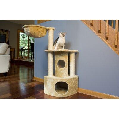 44 Peek-a-Boo Cat Tree