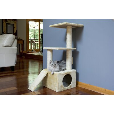 39 3 Level Cat Tree Condo
