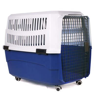 Pawings Transport Pet Crate Size: Large (16 H x 19 W x 25.7 L)