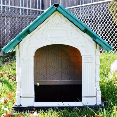 DazzleDen Elite Pet Villa Dog House Size: Small (23.6 H x 22.4 W x 28.3 L)