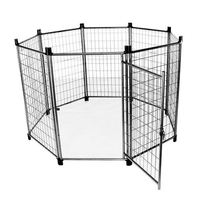 Heavy Duty High Metal Yard Kennel
