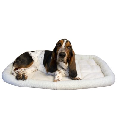 Premium Synthetic Sheepskin Handy Bed Size: Large - 19 L x 30 W