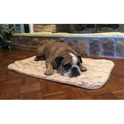 Premium Crate Mat with Long Plush Size: X-Small - 18 L x 12 W