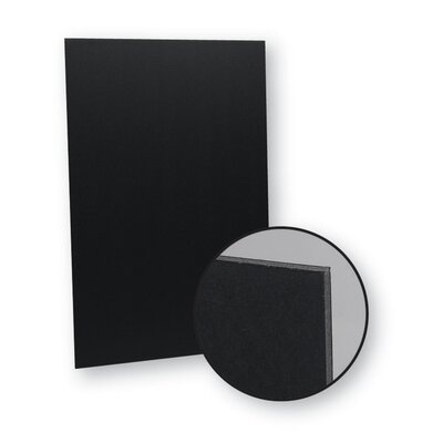 20 x 30 Foam Board Color: Black
