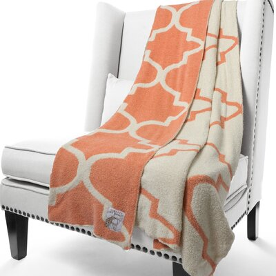 Dolce Moroccan Fabric Throw Color: Harvest
