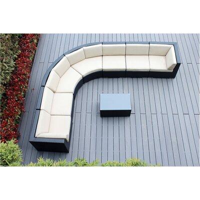 Popham Rattan Sectional Set Cushions Cushion 39 Product Pic