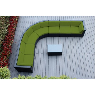 Information about Rattan Sectional Set Cushion Product Photo
