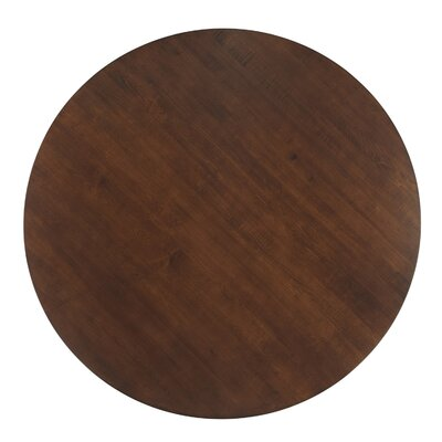 Cullum Dining Table Base Color: Shadow, Size: 48 W x 48 L