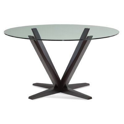 Stiefel Dining Table Base Color: Shadow, Size: 60 W x 60 L