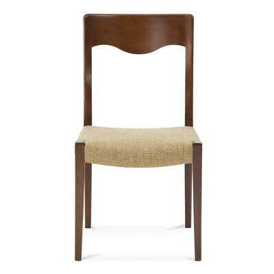 Alessandra Side Chair Upholstery: Galaxy, Finish: Rockport