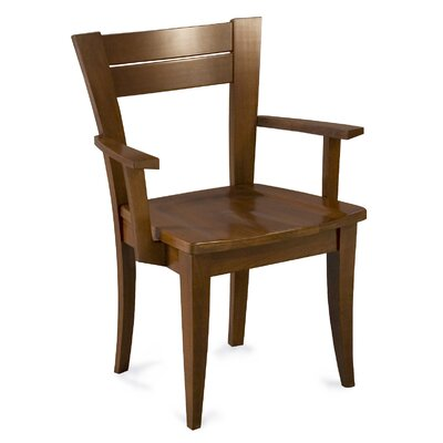 Czapla Model Solid Wood Dining Chair Color: Shadow