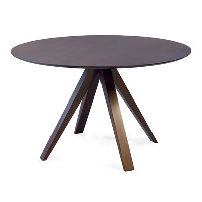 Cullum Dining Table Base Color: Shadow, Size: 60 W x 60 L