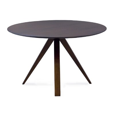 Cullinan Ellipse Dining Table Base Color: Shadow, Size: 36 W x 70  L