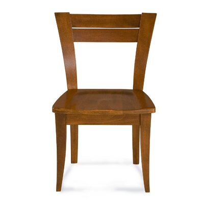 Tylor Contemporary Solid Wood Dining Chair Finish: Walnut