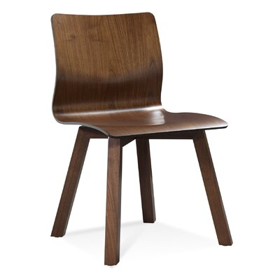 Culligan Solid Wood Dining Chair Color: Shadow