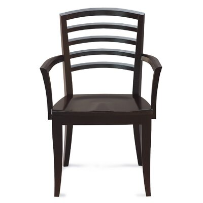 Sofian Solid Wood Dining Chair Finish: Walnut