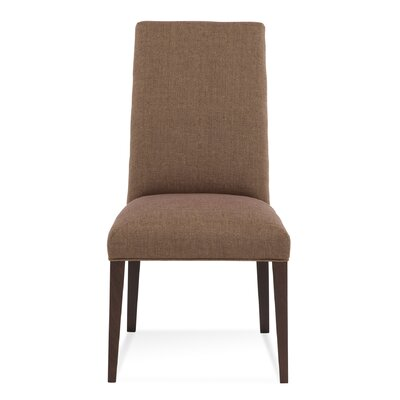 Ajhar Parsons Chair Finish: Rockport, Upholstery: Charcoal