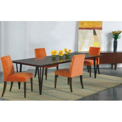 Castelnaud Modern 64 Dining Table Finish: Java