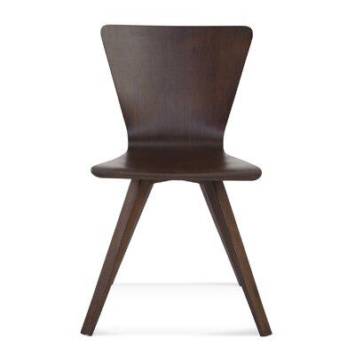 Skyline Side Chair Finish: Java