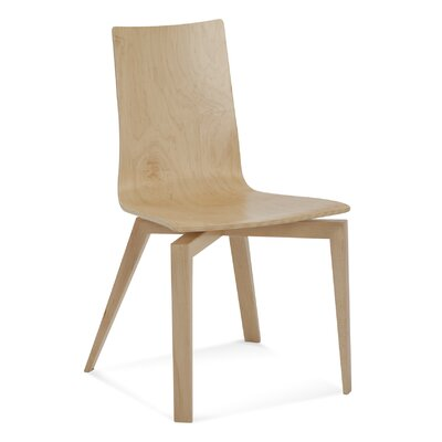 Tylor Solid Wood Dining Chair Finish: Flax