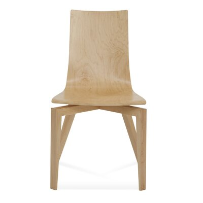 Tylor Solid Wood Dining Chair Finish: Walnut