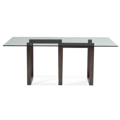 Reesa Dining Table Base Finish: NB-Nantucket, Size: 28.5 H x 20 W x 32 D