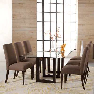 Peter Francis 72 inch Dining Table Finish: Java
