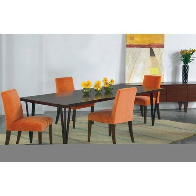 Castelnaud Modern 60 Dining Table Finish: Chestnut