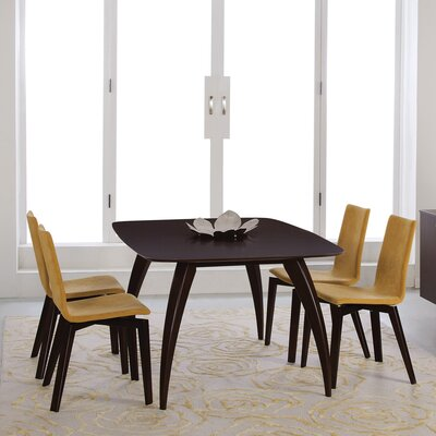Donta Dining Table Finish: Java, Table Top: Smooth Top