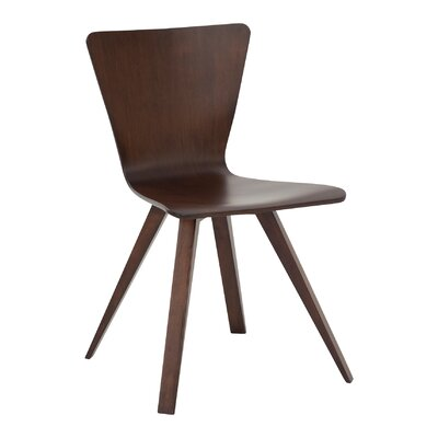 Tylor Contemporary Side Chair Finish: Java