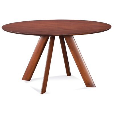 Efren 42 Dining Table Finish: Walnut, Size: 29 H x 42 W x 42 D