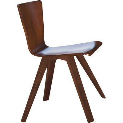 Tylor Contemporary Side Chair Finish: Flax