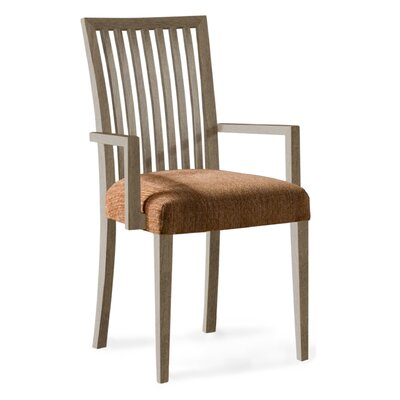 Model 24 Arm Chair Upholstery: Sahara, Finish: Nantucket