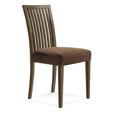 Bolds Wood Side Chair Upholstery: Dove, Finish: Rockport