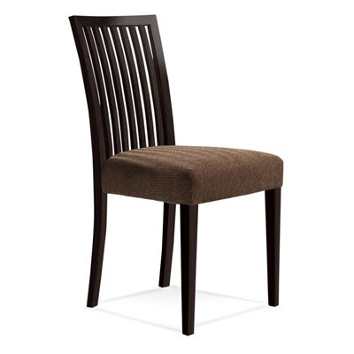 Bolds Wood Side Chair Finish: Rockport, Upholstery: Impression
