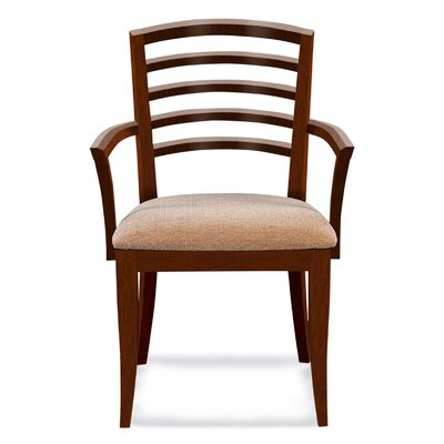 Sofian Arm Chair in Ramie Color: Harvest