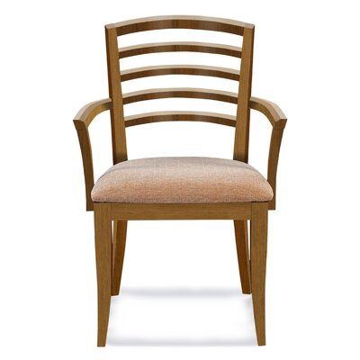 Sofian Upholstered Wood Dining Chair Finish: Flax
