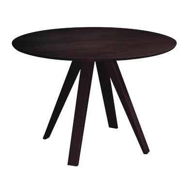 Gilyard 42 Dining Table Finish: Chocolate, Size: 29 H x 48 W x 48 D