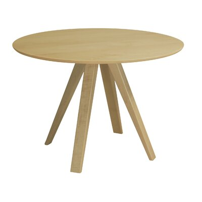 Gilyard 42 Dining Table Finish: Natural, Size: 29 H x 60 W x 60 W