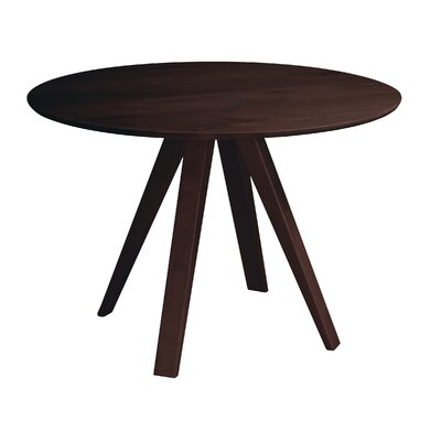 Gilyard 42 Dining Table Finish: Java, Size: 29 H x 60 W x 60 W