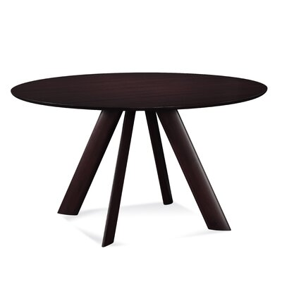 Efren 42 Dining Table Finish: Chocolate, Size: 29 H x 54 W x 54 D