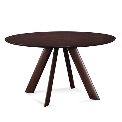 Efren 42 Dining Table Finish: Java, Size: 29 H x 60 W x 60 D