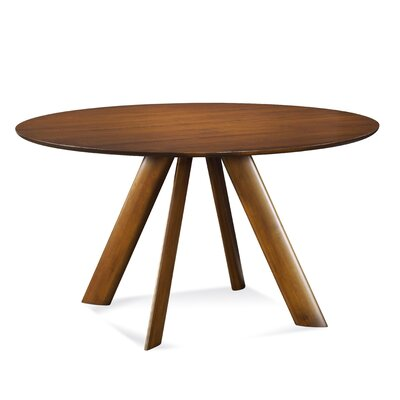 Efren 42 Dining Table Finish: Flax, Size: 29 H x 54 W x 54 D