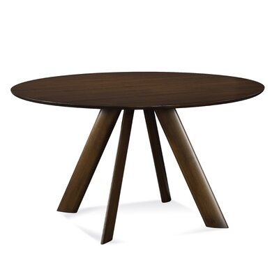 Eden 42 inch Dining Table Finish: Aurora, Size: 29 inch H x 42 inch W x 42 inch D