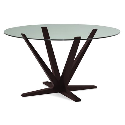 Tylor 54 Dining Table Finish: Chocolate