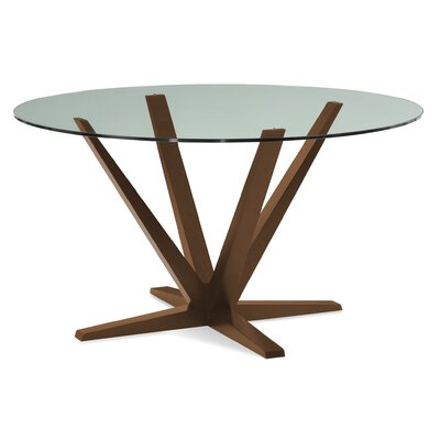Tylor 54 Dining Table Finish: Walnut