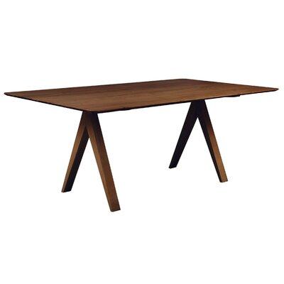 Skyline 60 inch Dining Table Finish: Walnut