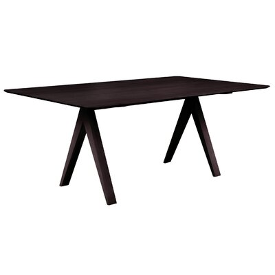 Skyline 60 inch Dining Table Finish: Chocolate