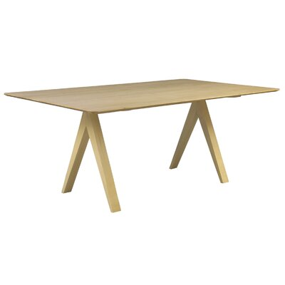 Skyline 60 Dining Table Finish: Natural