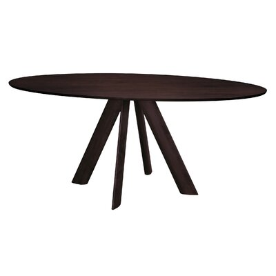 Efren Dining Table Finish: Java, Size: 29 H x 42 W x 80 D